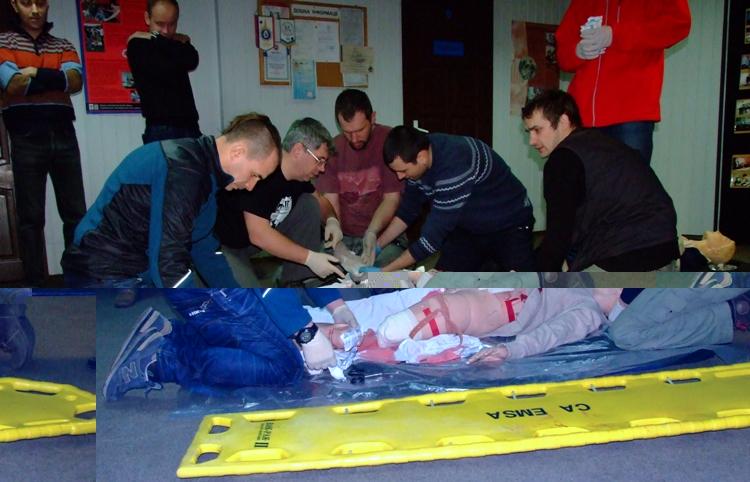 Волонтеров учат предоставлять медицинскую помощь