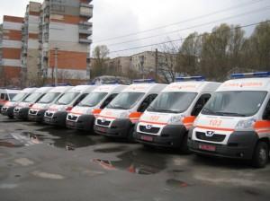 Новые машины скорой помощи