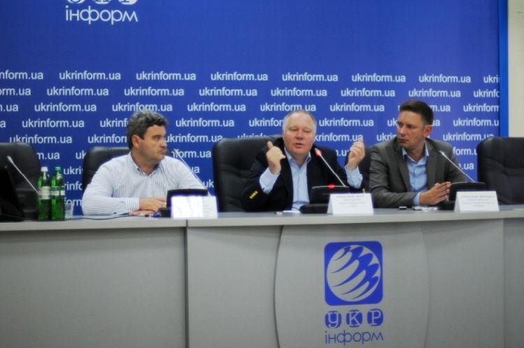 Пресс-конференция в пресс-центре ИА «Укринформ»